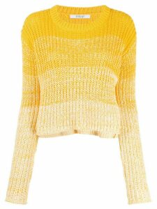 Derek Lam 10 Crosby Layla Degrade jumper - Yellow