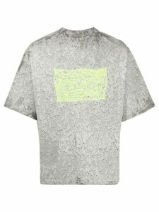 Eytys Goliath aquarela-print T-shirt - Grey