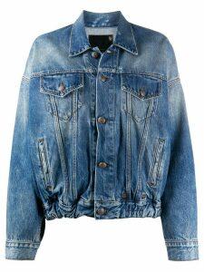 R13 stonewashed denim jacket - Blue