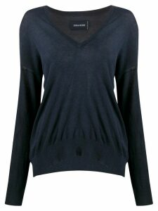Zadig & Voltaire V-neck jumper - Blue