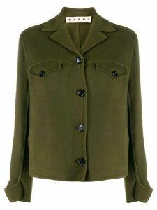 Marni cashmere shirt jacket - Green