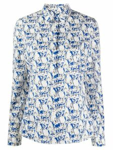 PS Paul Smith bunny print shirt - Blue