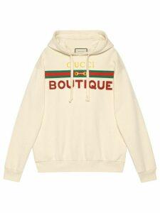Gucci Gucci Boutique hoodie - White