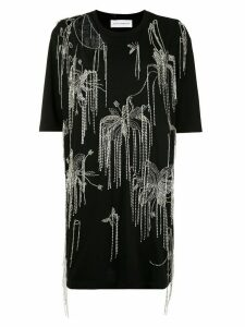 Faith Connexion crystal embellished T-shirt - Black