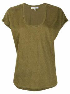 FRAME easy scoop T-shirt - Green
