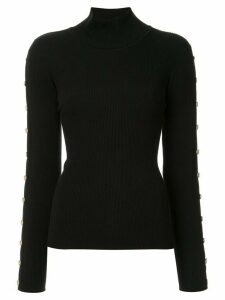 Edward Achour Paris turtle neck jumper - Black