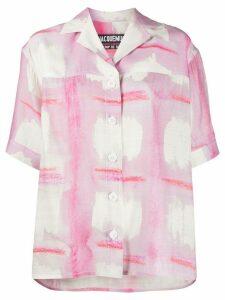Jacquemus Le Chemise Vallena shirt - PINK