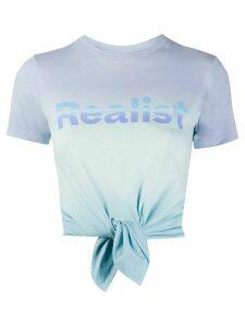 Paco Rabanne tie dye T-shirt - Blue
