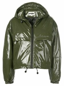 Apparis Colby hooded zip up jacket - Green
