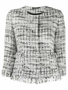 Tagliatore Milly tweed jacket - White