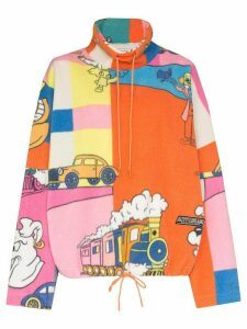 Martine Rose cartoon-print sweatshirt - PINK