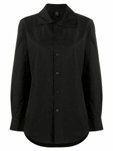 Y's layered collar shirt - Black