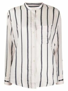 Etoile Satchell striped-print shirt - PINK
