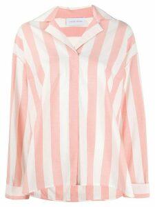 Christian Wijnants Tyan striped pattern shirt - White
