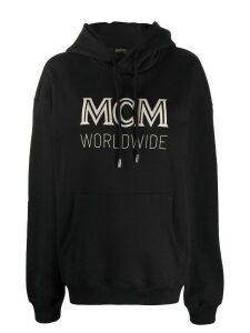 MCM logo hoodie - Black