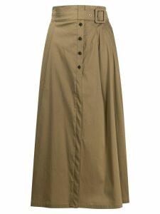 Patrizia Pepe high-waisted skirt - NEUTRALS
