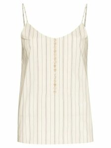 Chloé striped camisole top - NEUTRALS