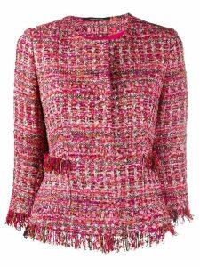 Tagliatore Milly tweed jacket - PINK