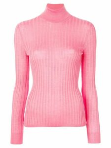 Gucci fine knit turtleneck - PINK