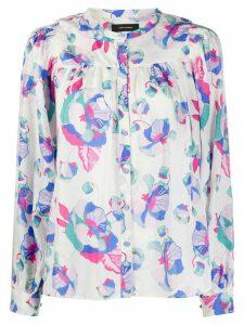 Isabel Marant Ritonea floral-print blouse - Blue