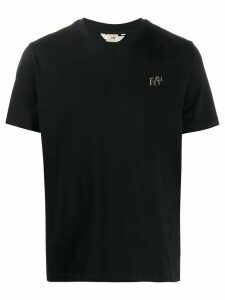 Eytys logo plaque T-shirt - Black