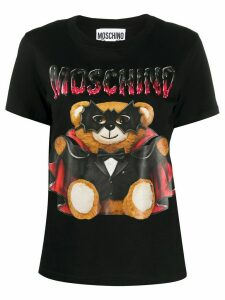 Moschino Bat Teddybear T-shirt - Black
