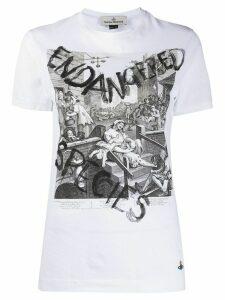 Vivienne Westwood Peru printed T-shirt - White