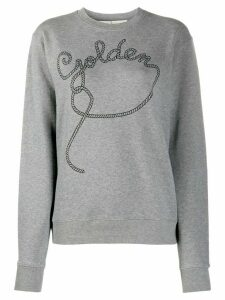 Golden Goose rope-print sweatshirt - Grey