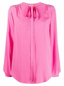 Nº21 pussy bow blouse - PINK