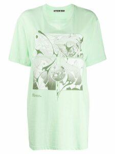 Hyein Seo Sirens oversized T-shirt - Green