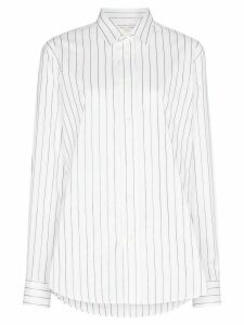 Sunflower metallic striped shirt - White
