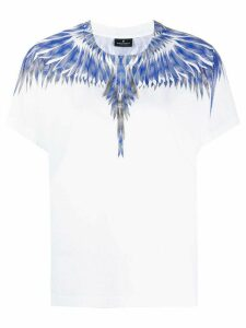 MARCELO BURLON COUNTY OF MILAN squared wings T-shirts - Black