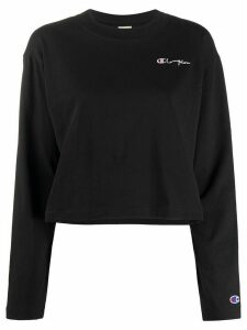 Champion cropped sweatshirt - Black
