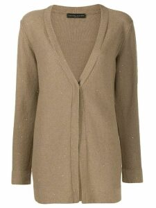 Fabiana Filippi sequin knit cardigan - NEUTRALS