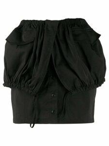Jacquemus La jupe Cueillette skirt - Black