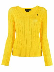 Polo Ralph Lauren cable-knit jumper - Yellow