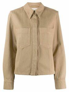 Lemaire denim shirt - NEUTRALS