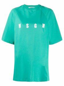 MSGM Milano print T-shirt - Green