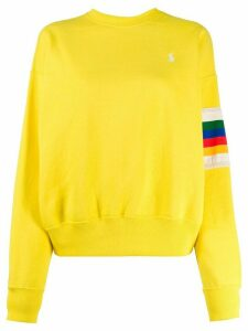 Polo Ralph Lauren embroidered logo sweatshirt - Yellow