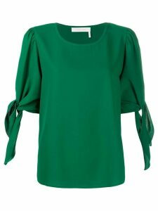 See by Chloé tie-sleeve blouse - Green