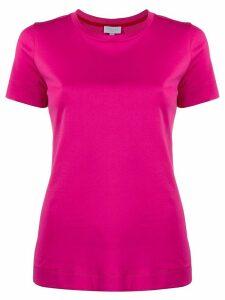 Escada Sport fitted plain T-shirt - PINK