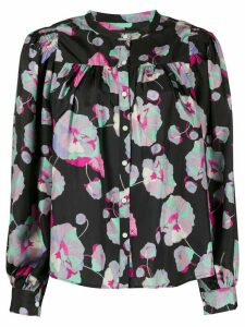 Isabel Marant Orionea floral-print shirt - Black