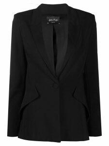 Andrea Ya'aqov deep v-neck blazer - Black