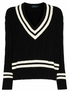 Polo Ralph Lauren Cricket style jumper - Black