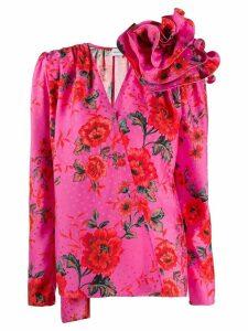 Magda Butrym Bolzano wrap-style blouse - PINK