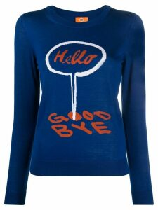 Paul Smith Hello Goodbye jumper - Blue