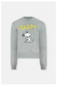 Snoopy Cropped Sweatshirt