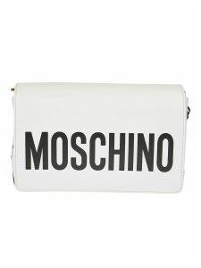 Moschino Flap Logo Shoulder Bag