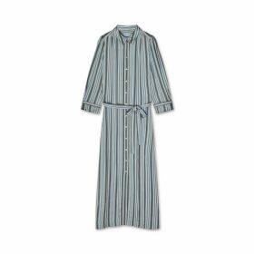 Jigsaw Multi Stripe Shirt Dress