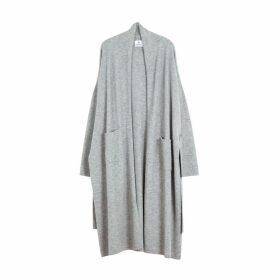 Arela Haru Cashmere Robe In Grey